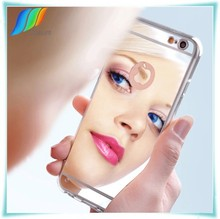 New TPU Design 6 patterns Mirror case for iphone 6 plus