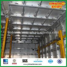 el peso ligero de alta resistencia de aluminio de metal encofrado de hormigón