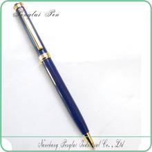 promotional pen with logo , Custom cheap slim logo metal lady design laser engraving ball pen