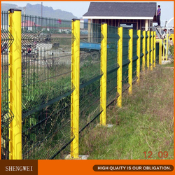 Cheap welded iron wire mesh fence