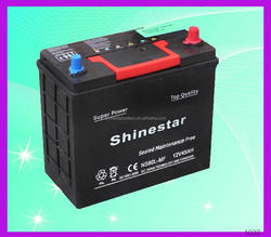 Guangzhou long life 12 Volt 45AH storage din battery With Best Price