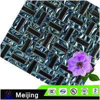 Colorful split marble mosaic for laminate flooring