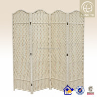 Simple Styple Weaving Paper Rope wall partitions home