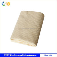 2015 Eco-friendly Embossed microfiber Chamois car cleaning towel for sale