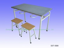 High Quality Cheap MDF Dinning Table and Chairs