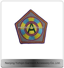 hot selling casual wear custom embroidered patches