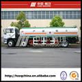 Combustible camión cisterna remolque, combustible de transporte Van