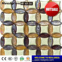 Brand New Product customized mosaic pattern swimming pool tiles price
