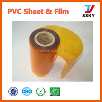 Clear PVC Cover Plastic Sheet For Thickness At Most 10mm Thick