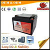 5 years design life Alarm Systems 24V 12v 17ah portable lamp battery