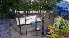 8 panel dog kennel ,metal cages , dog pen cat house