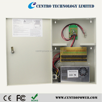 18CH Uninterrupted Power Supply DC 12V 30A UPS Power Supply for CCTV