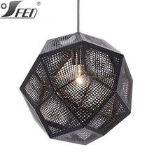 Etch suspension lamp Tom Dixon lighting stainless ball pendants