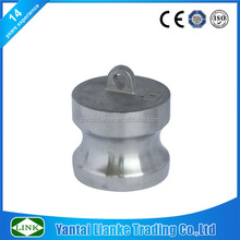 316 304 stainless steel camlock coupling part dp anti dust plug