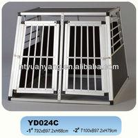 folding waterproof aluminum cage case pet cage
