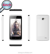 4inch SP-M403 dual core smartphone, Andriod 4.4, MTK6572, WIFI+3G+GPS+FM, promotion mobile phone, do OEM, original china
