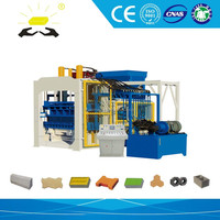 QTY12-15 Automatic concrete special brick machine of national water engineering slope protection machine