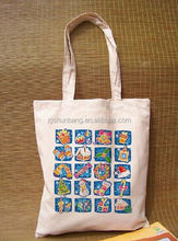 recyclable shopping bag/ shopping cotton bags/ small printed cotton bag follower