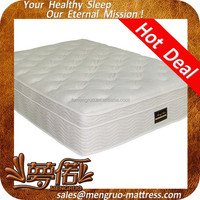 luxury comfort fireproof spring hotel bed and mattress