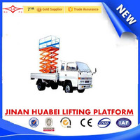 best sale truck mounted hydraulic manlift