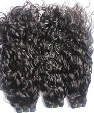 2015 Hot Sale Virgin Human Hair Weave Unprocessed Malaysia Hair Loose Curly