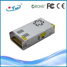 Shenzhen supply 360w power supply 12v 30a ip20 led driver ac to dc converter 48v to 12v