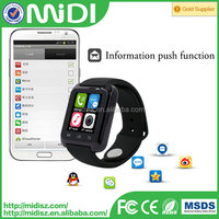 cheap wholesale mobile phones bluetooth U8 smart watch with high quality