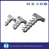 Used For Pole Line Hardware Galvanized suspension clamp or Dead end clamp China OEM Aluminium Alloy Strain Clamp