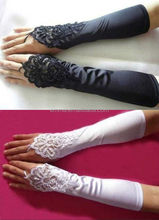 Pretty cheap lace gloves party accessories fingerless lace bridal gloves for women GL4052