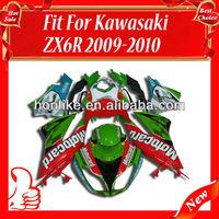 Fairings Kit for KAWASAKI Ninja ZX6R 09 10 2009-2010 ZX-6R 2009 2010 ZX 6R 09-10 ABS Bodywork Fairing