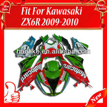 Fairings Kit for KAWASAKI Ninja ZX6R 09 10 2009-2010 ZX-6R 2009 2010 ZX 6R 09-10 ABS Bodywork Fairing