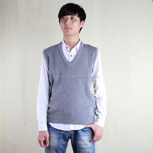 ล่าสุดv- คอเสื้อเสื้อออกแบบสำหรับผู้ชายแถบแนวตั้งรูปแบบเสื้อกั๊กสำหรับผู้ชาย