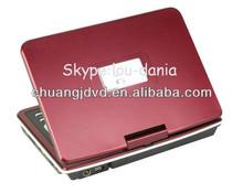 2014 nueva pantalla giratoria Reproductor de DVD portátil
