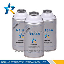 Car Air conditioner refrigerant gas R134A in Small can