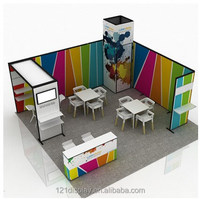 Economical Easy self-built Standard Modular Exhibition Booth