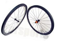 1350g/set Super light Farsports carbon clincher wheels 38x23mm road bike wheelset carbon edhub cx-ray spoke basalt braking track