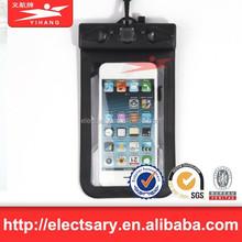 2015 Hot Sales 100% Seal PVC phone waterproof bag for iphone 6 plus