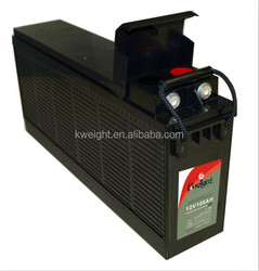 long discharge AGM battery vrla front access battery 12v 105ah front terminal battery