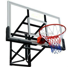basketball post in wall