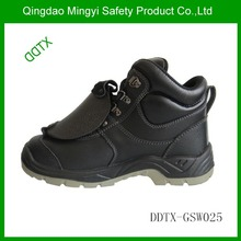 Buffalo leather safety shoes export to Singapore and applying for welding