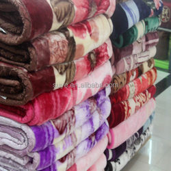heavy warm blanket for winter/double layer blanket