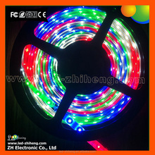 Dimmable 12v rgb 5050 led strip 12v For Car House Party Decorate + IR Remote Control