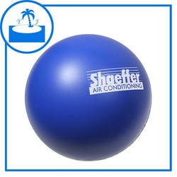 promotional gift accpect print logo custom 6.3cm PU Stress Ball