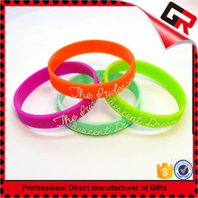High end colorful fashion the rubber band bracelet