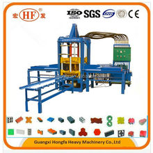 Factory directly sell color paver form (QTF3-20) small hydraulic block making machine