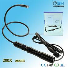 8.5mm Manual Digital Portable USB Focusing Camera with 200 zoom