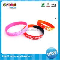 high quality silicone wrist band promotional silicone wristband