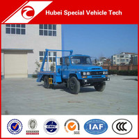 Dongfeng 4*2 6 Ton Right Hand Drive Swing Arm garbage truck