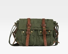 High quality popular brand men canvas handbag