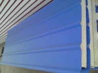 construction material partition wall insulated panels for cold storage